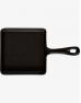 Сковорода чугунная 140 x 140 мм с ручкой порционная